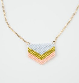 Loela LO JE - Chevron Necklace