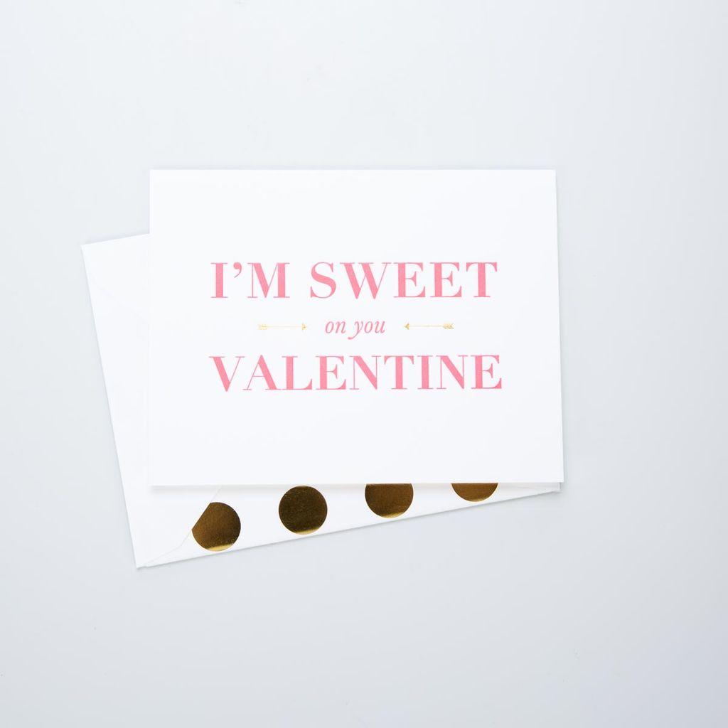 Sugar Paper Sweet on you Valentine