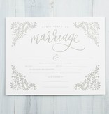 Printable Wisdom Fill-in Marriage Certificate Art Print