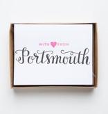 Parrott Design Studio Love from Portsmouth Noteset