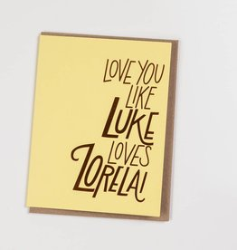 The Good Twin TGTGCLO0005 - Luke Loves Lorelai
