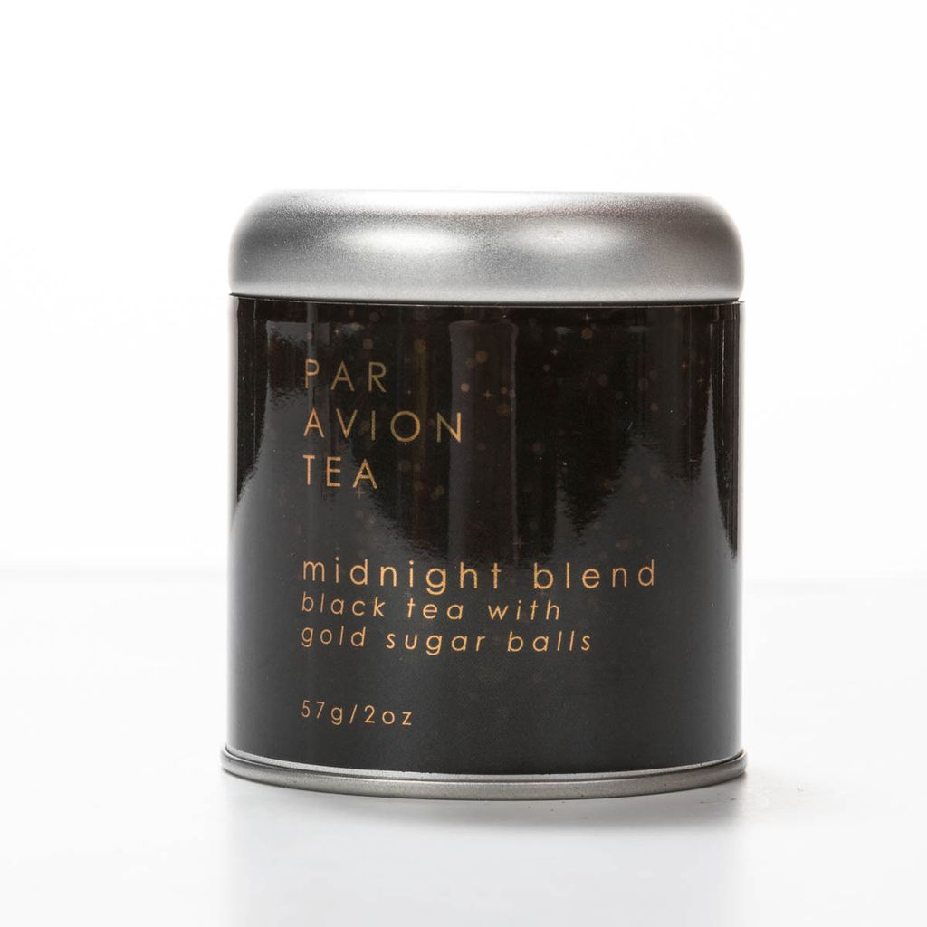 Par Avion Tea Midnight Blend Glitter Tea