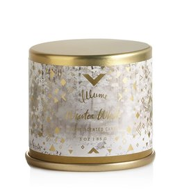 illume candles Winter White Mini Tin Candle
