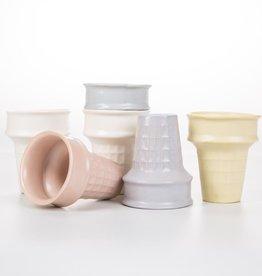 Sin Porcelain Ice Cream Cone