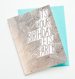 The Good Twin TGT GC - Lets Party Birthday