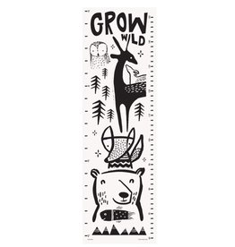 Wee Gallery Woodland Growth Chart