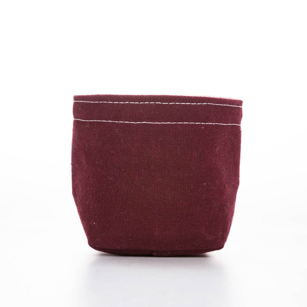 Casey D Sibley Art + Design CDS ST - Maroon Mini Bucket