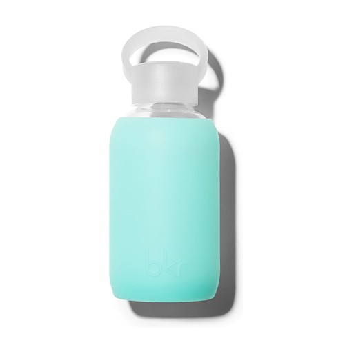 bkr BKRAC0063 - Glass Waterbottle, Holiday 8 oz