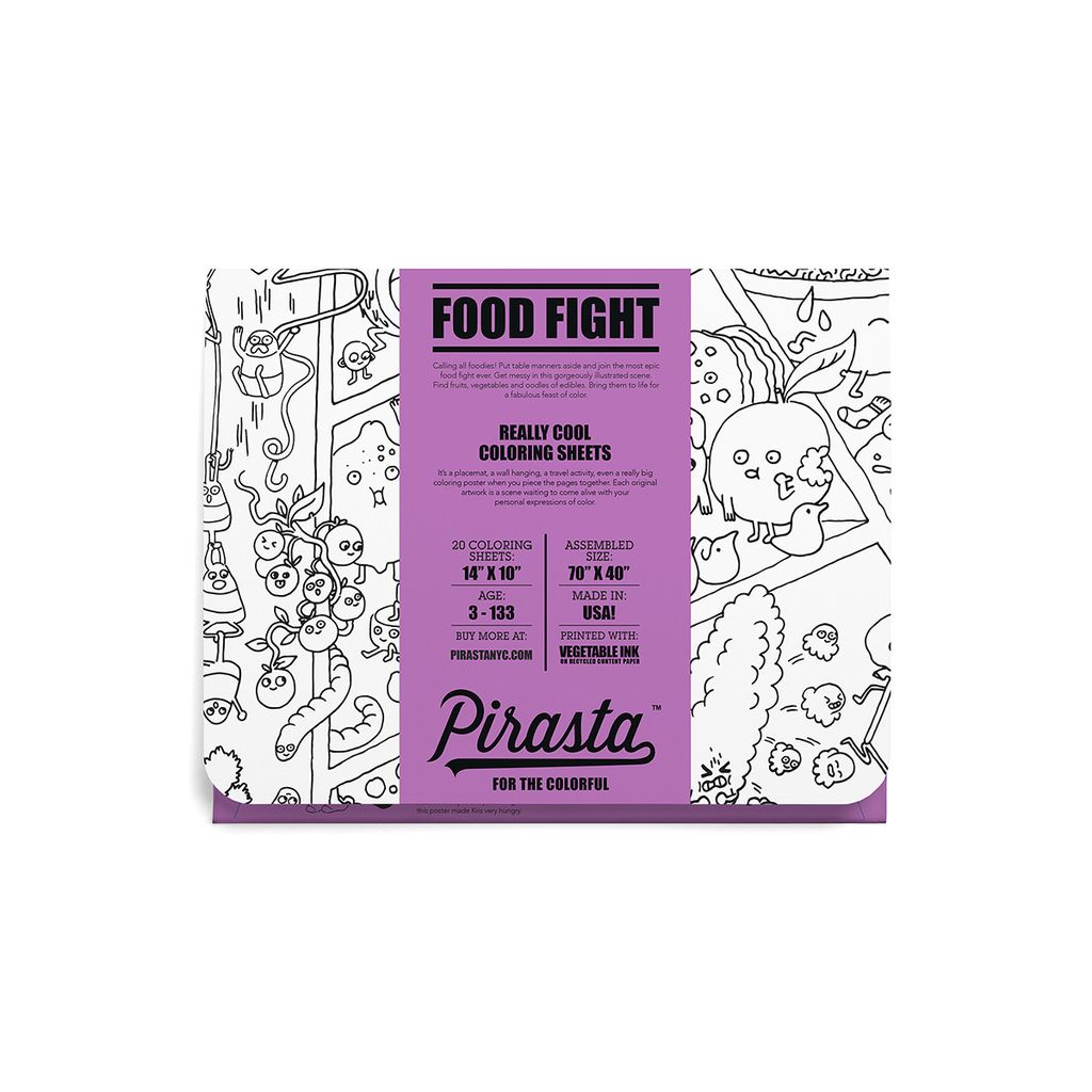 Pirasta PIR DIY - Food Fight Sheets