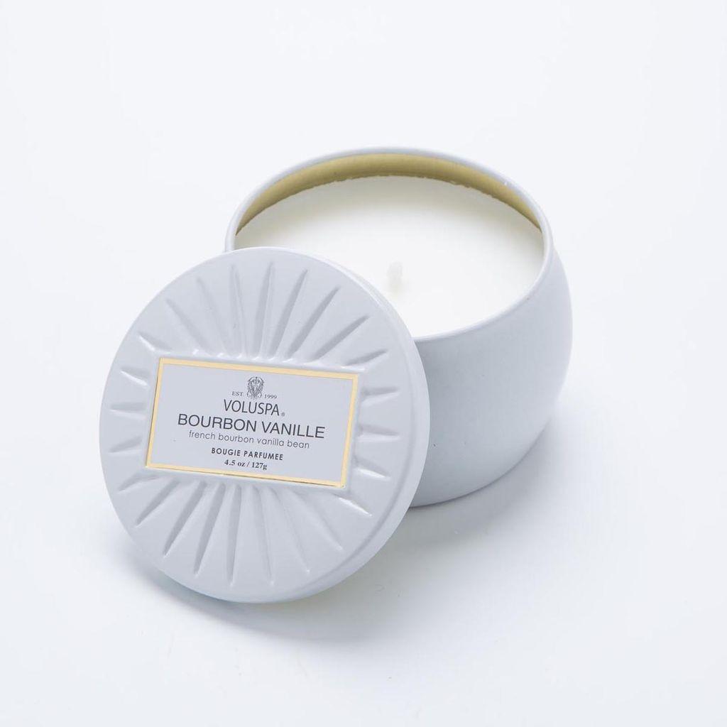 Voluspa Bourbon Vanille Mini Tin