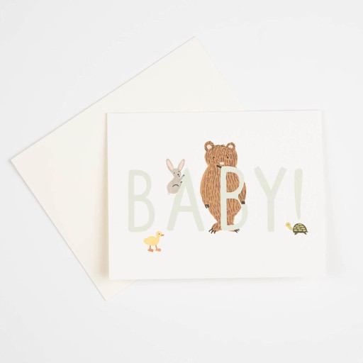 Rifle Paper Co. RP GC - BABY! card mint