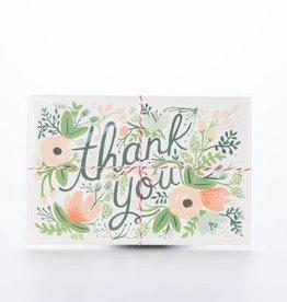 Rifle Paper Co. Wildflower Thank You Postcard Set