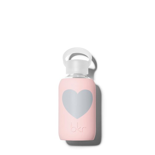 bkr bkr Pout Heart 250ml Glass Waterbottle