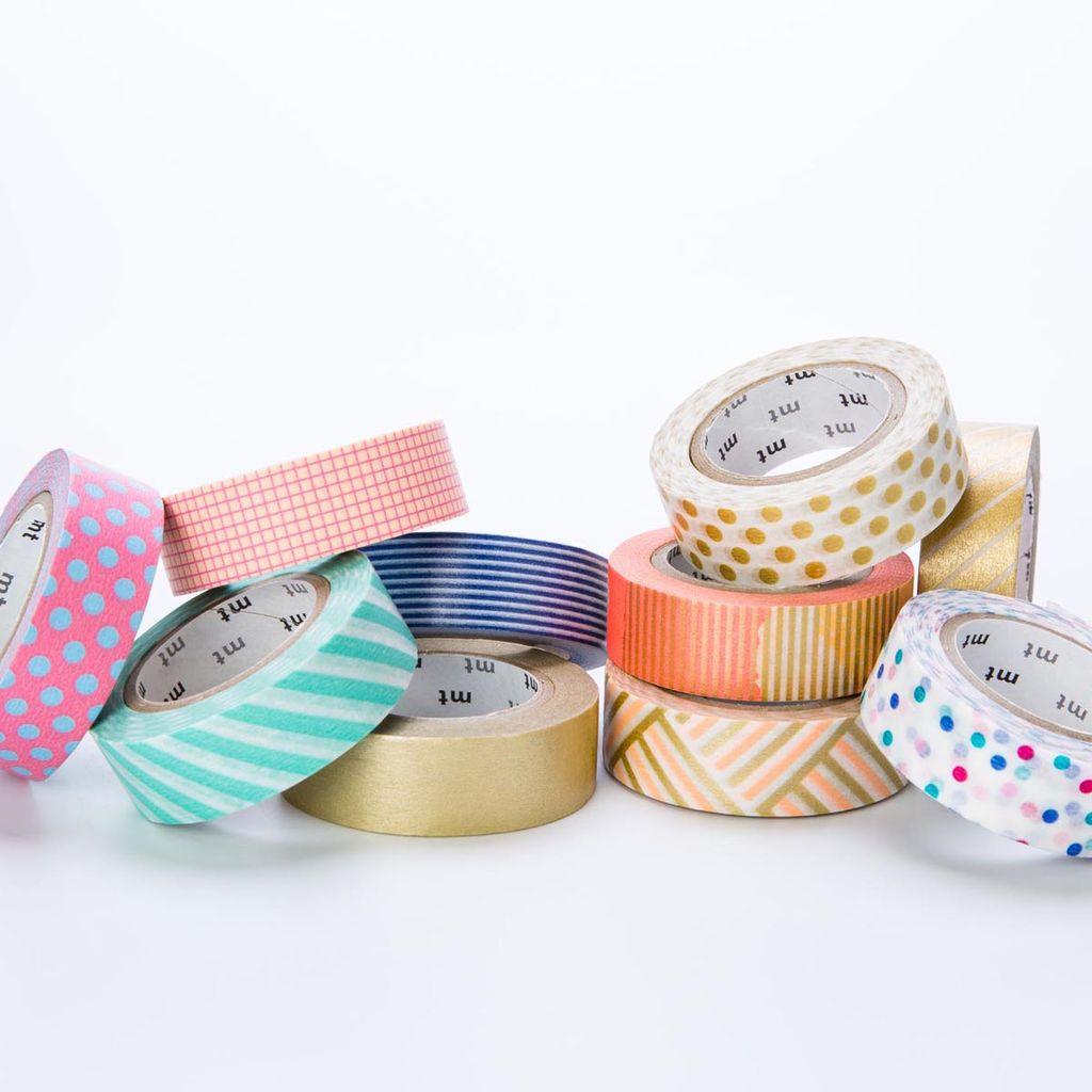 Sweet Bella LLC SWB OS - 1 meter roll washi tape, drop pink