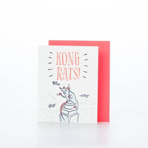 Ladyfingers Letterpress LFGCCO0002 - Kong Rats