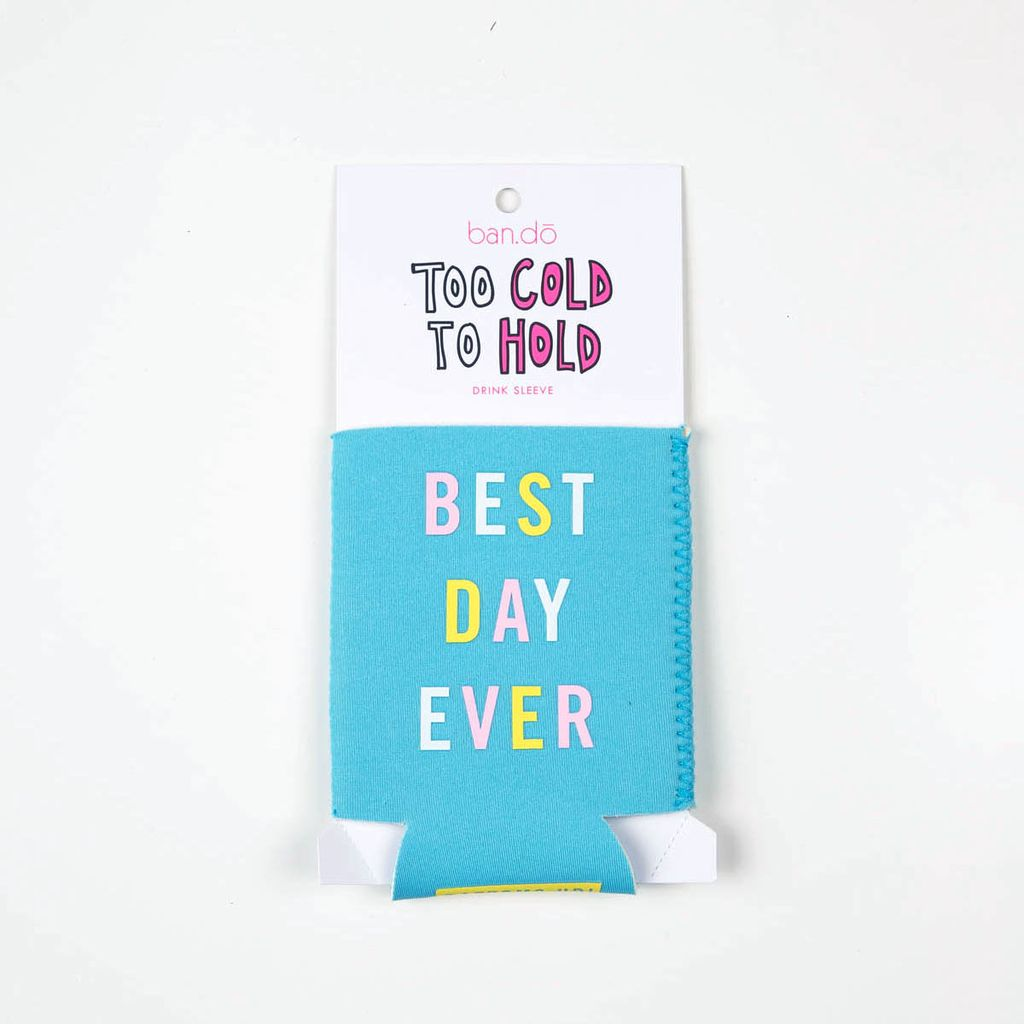 ban.do Best Day Ever Drink Sleeve