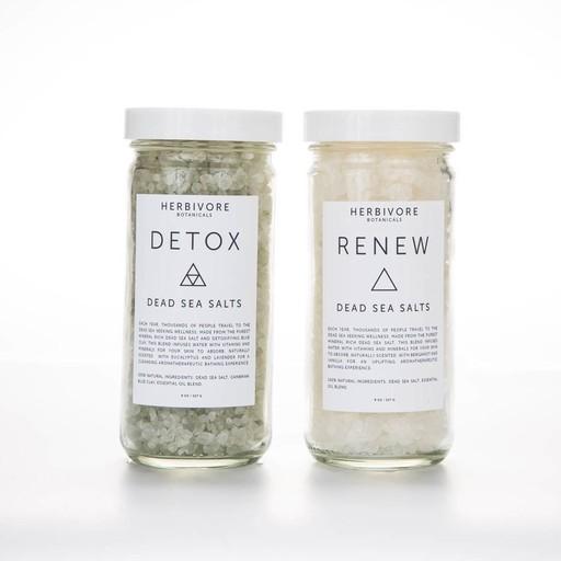 herbivore botanicals Detox Dead Sea Bath Salts