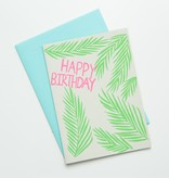 Gold Teeth Brooklyn GTB GC -Palms Birthday Card