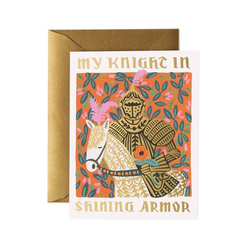 Rifle Paper Co. RP GC - Knight in Shining Armor