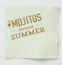 farewell paperie Summer Mojitos Napkins