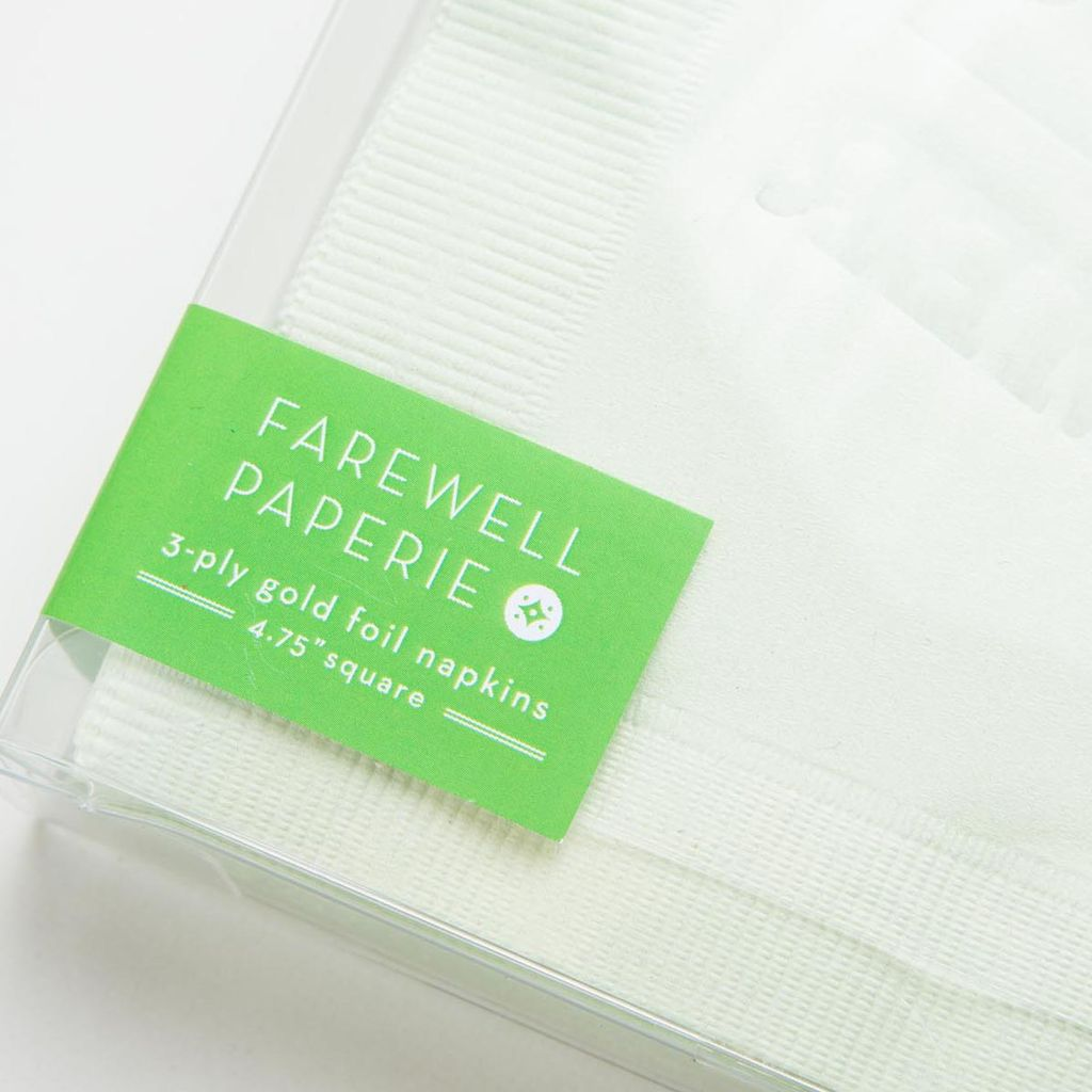farewell paperie FWP PS - Mojitos Set of 25 napkins