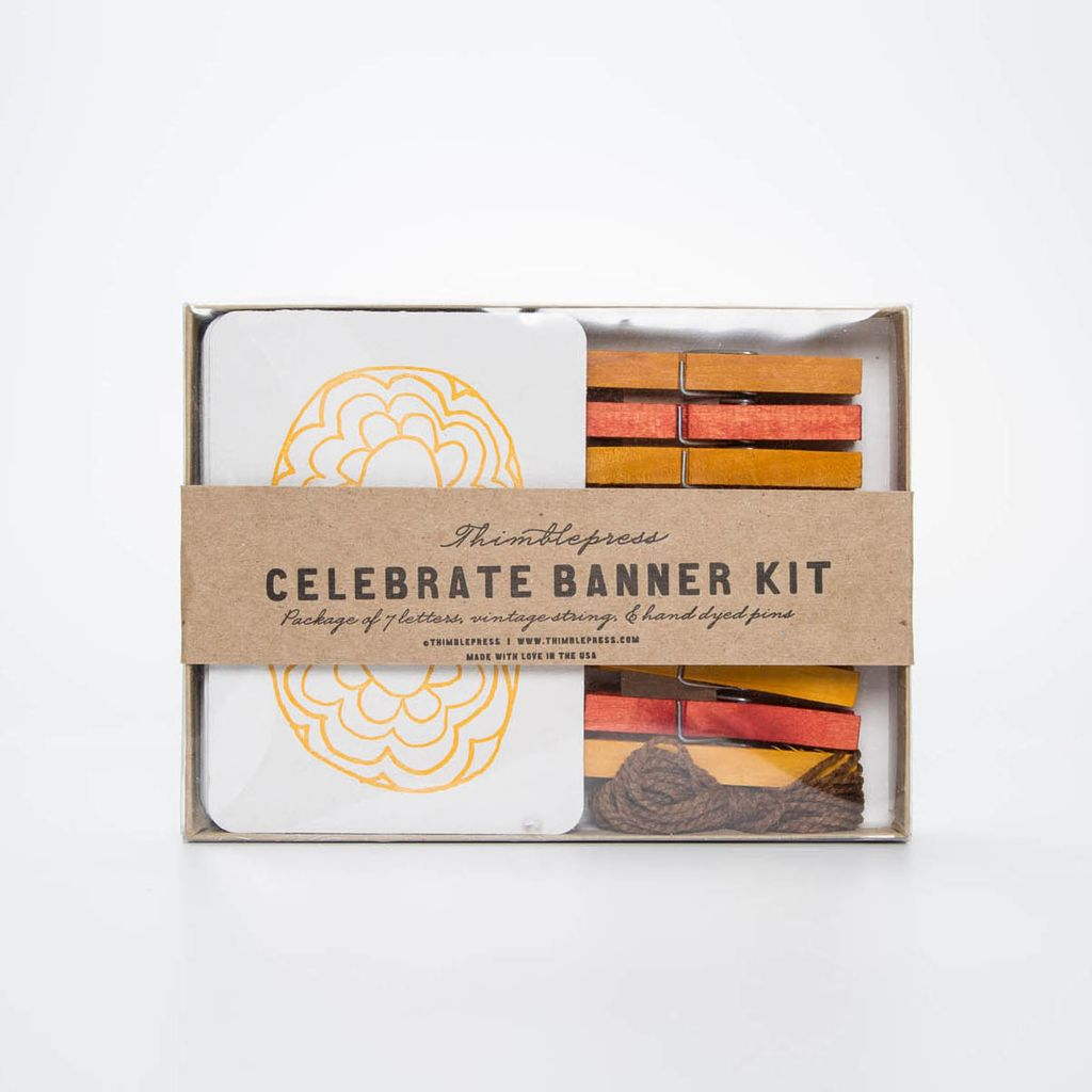 Thimblepress TBP PS - ( Celebrate ) Banner Kit