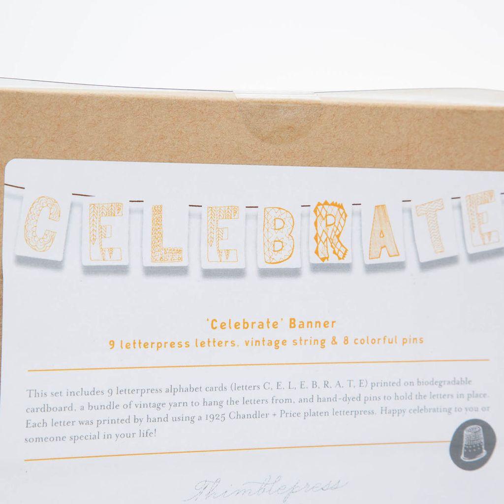 Thimblepress TBP PS - ( Celebrate ) Banner Kit