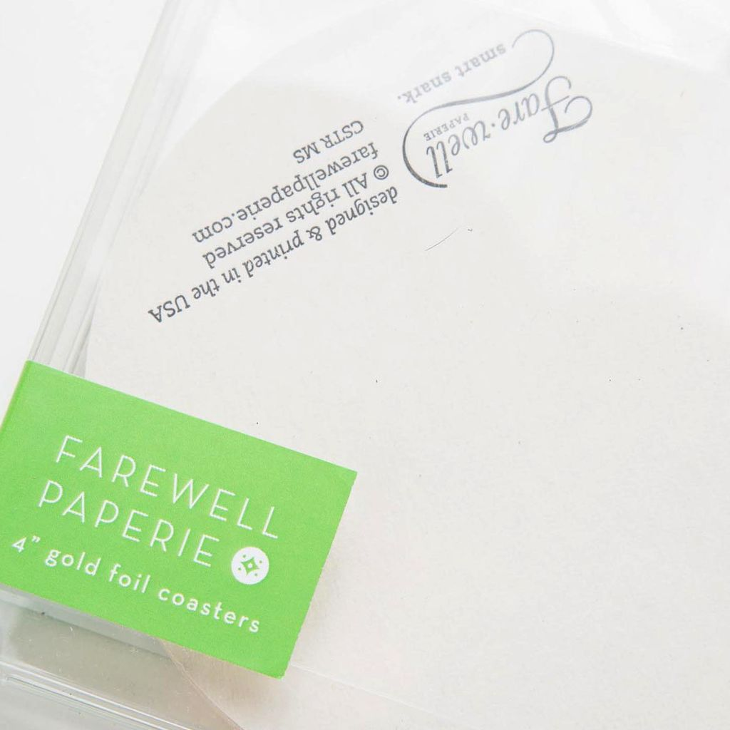 farewell paperie FWP PS - Mojitos Summer, 10 Coasters