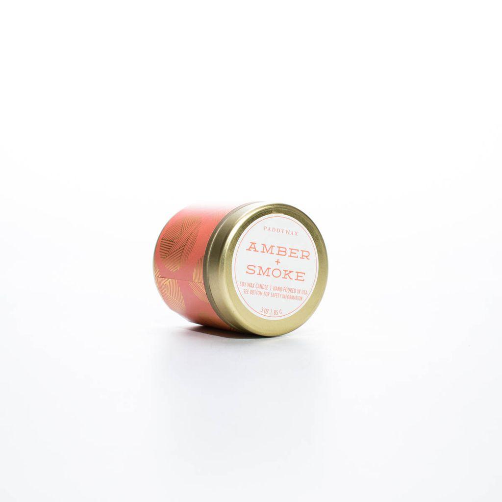 Paddywax PA CA - Amber Smoke Kaleidoscope 3 oz tin