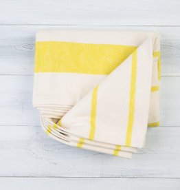 Pehr Citron Cotton Flannel Throw