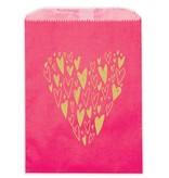 Ladyfingers Letterpress Hearts Treat Bags
