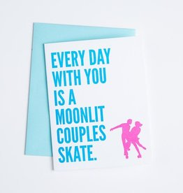 McBittersons Moonlit Couples Skate Card
