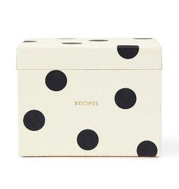 Kate Spade Polka Dot Recipe Box by Kate Spade