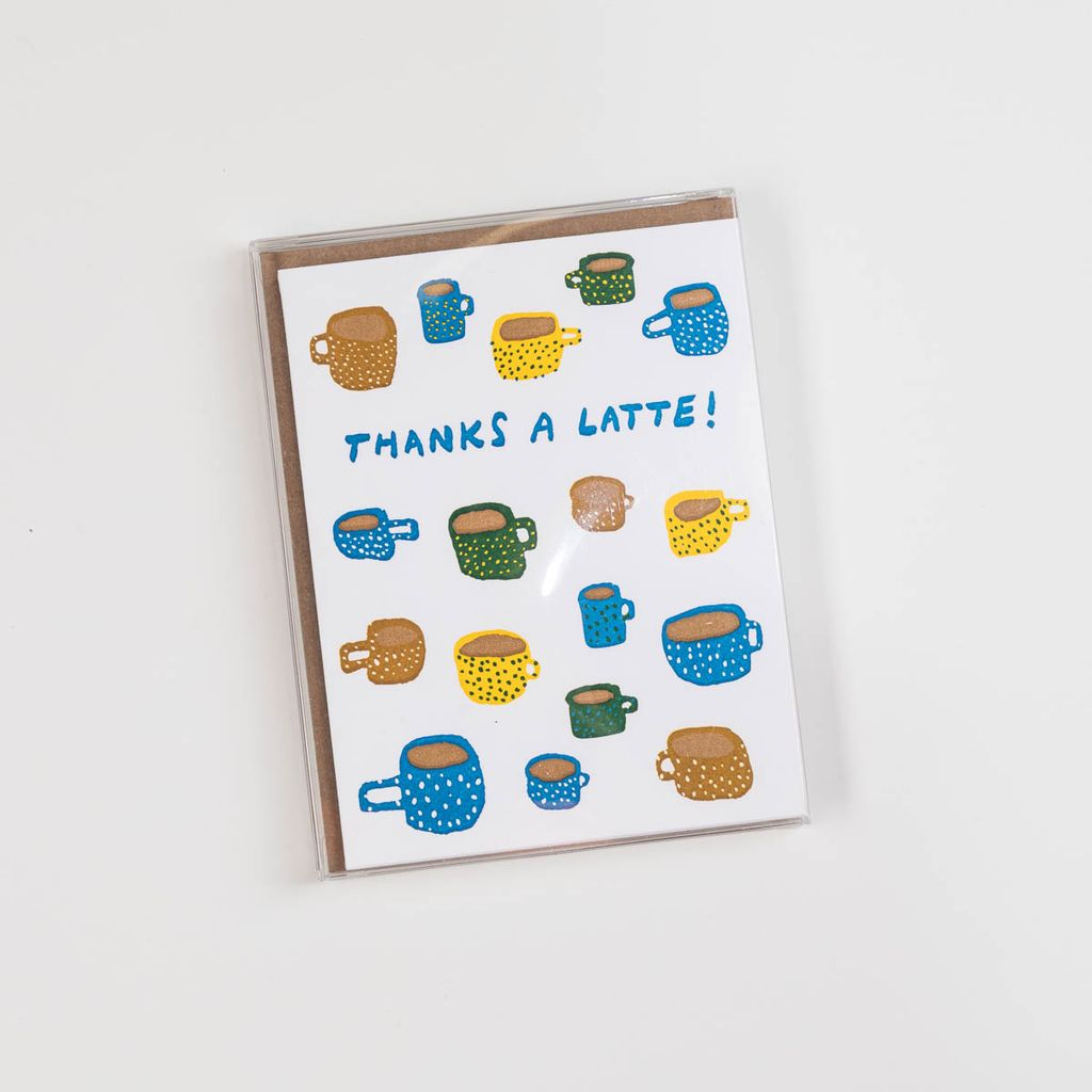 Hammerpress Thanks-a-Latte Note Set