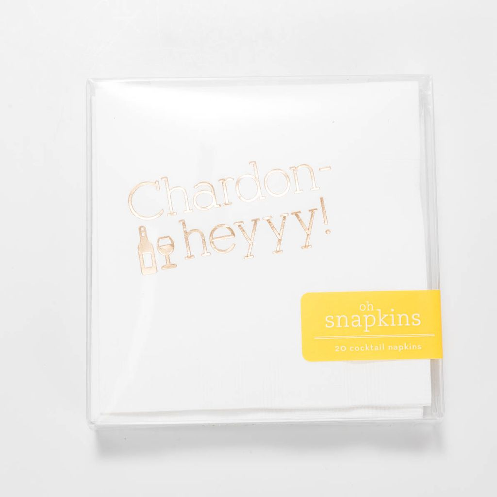 farewell paperie Chardon-Hey Cocktail Napkins
