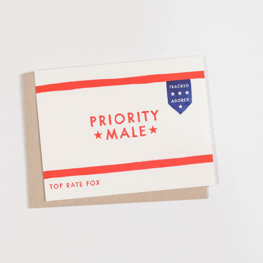 Dear Hancock Priority Male Card