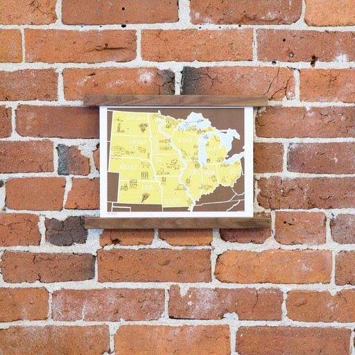 Brainstorm Print and Design BS PR - american atlas midwest 8 Inch x 10 Inch