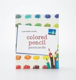 Chronicle Books Colored Pencil Postcard Kit