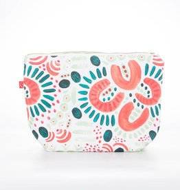 Casey D Sibley Art + Design Flourish Clutch Pouch