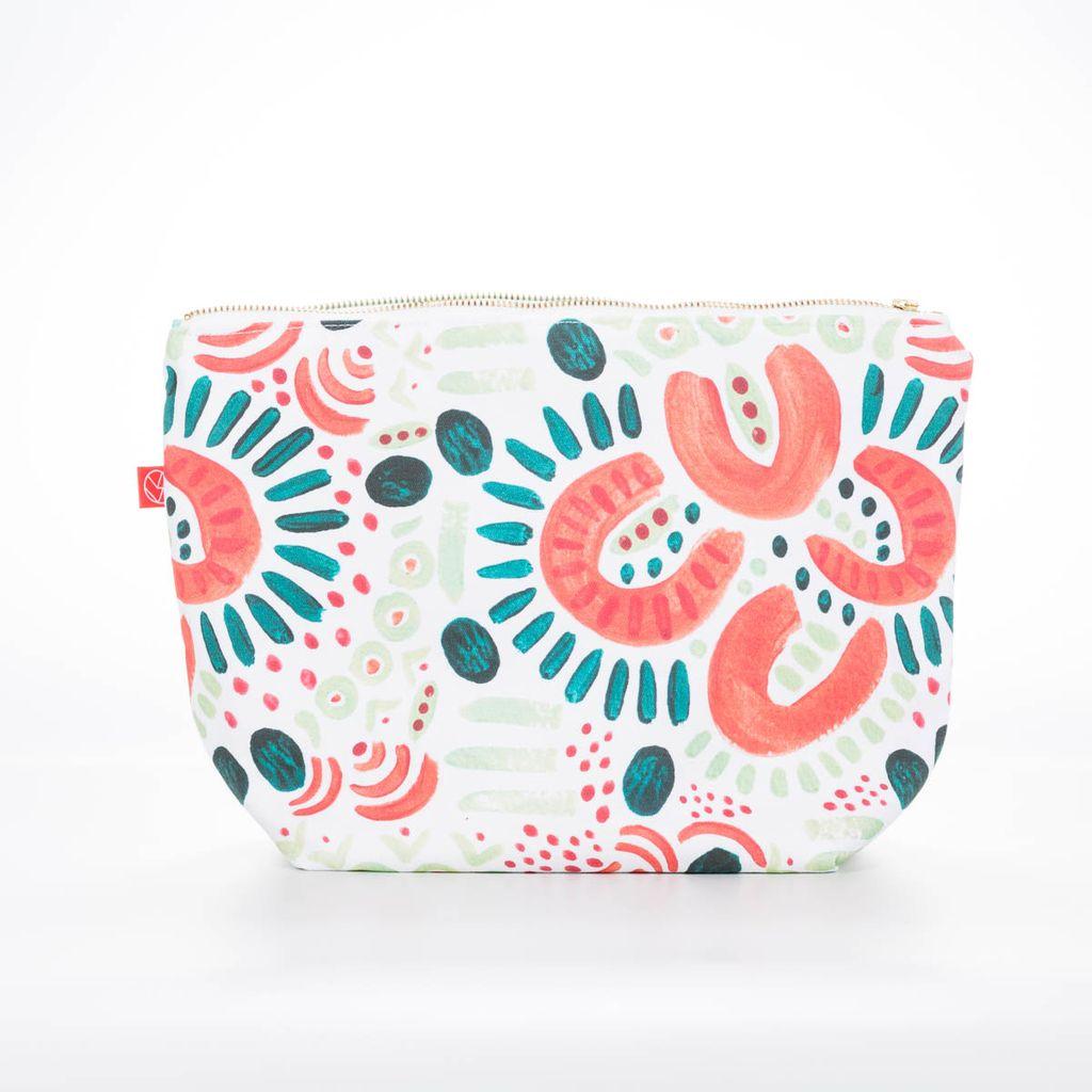 Casey D Sibley Art + Design Flourish Clutch Pouch