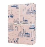 Rifle Paper Co. City Toile Wrap Sheet