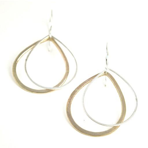 Favor Jewelry Double Drop Shadow Earrings