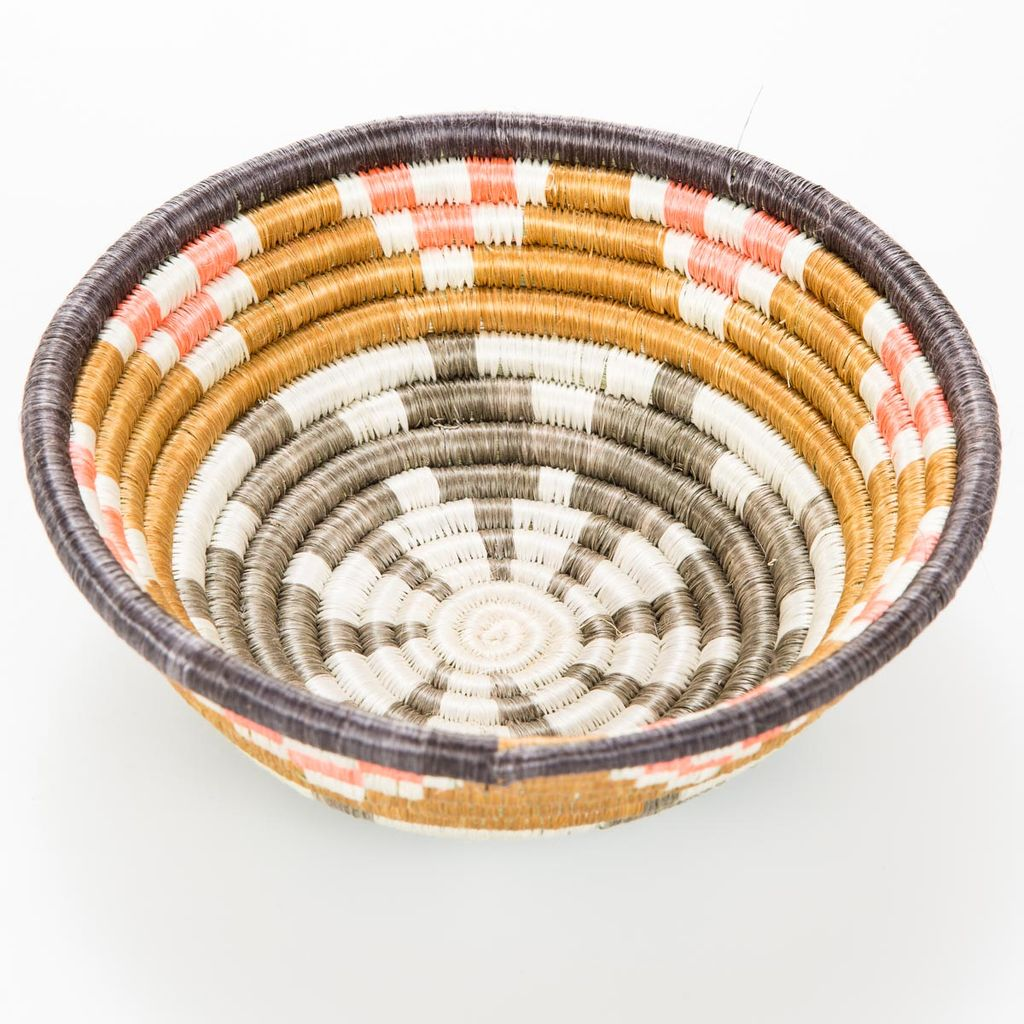 Across Africa AA HG - Small Dijon + Coral Hope Basket