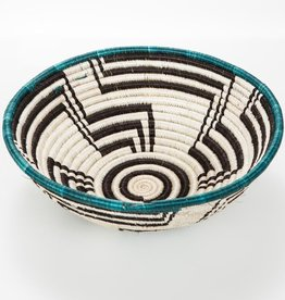 Across Africa Medium Teal Unity Basket