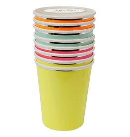 Meri Meri MEM PS - Neon Paper Cups 8 pk