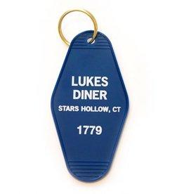 Greenwich Letterpress Luke's Diner Keychain
