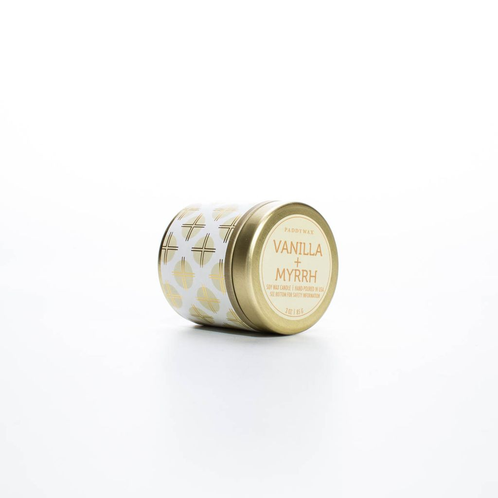 Paddywax PACATI - Vanilla Myrrh Kaleidoscope 3 oz tin