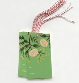 Rifle Paper Co. RP GT - emerald peony gift tags, set 10