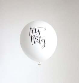 The Flair Exchange Let's Party Set of 3 Balloons