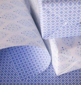 Smock Periwinkle Reversible Wrap Sheet